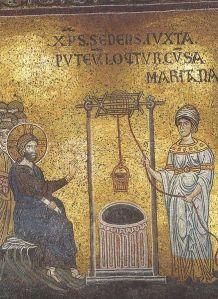 437px-Christ_anв_Samaritan_woman_(Monreale)