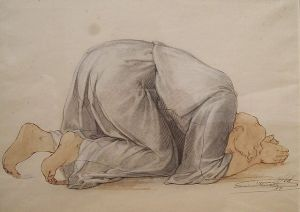 ABEL_-_Figure_Kneeling_in_Prayer2