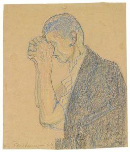 512px-Anton_Faistauer_Studie_betender_Mann_1909