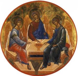 609px-Miniature_depiction_of_Andrei_Rublev_Trinity